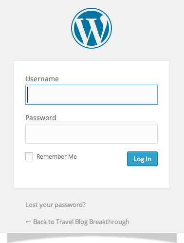 Bluehost-WordPress-Log-In
